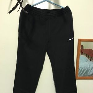 Nike Black sweats.